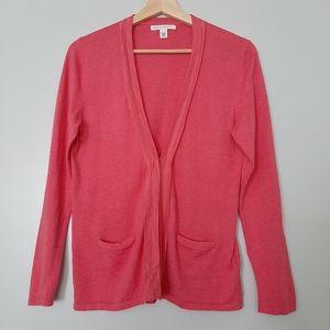 BANANA REPUBLIC Cashmere Blend Cardigan Top Pink M